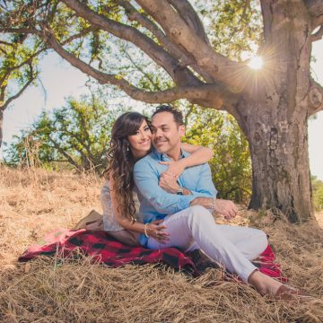 Irvine Regional Park Engagement Session